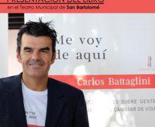 """El Teatro de San Bartolomé acogerá la presentación del libro """"Me voy de aquí"""" el jueves 22 de abril a las 20.00 horas"""