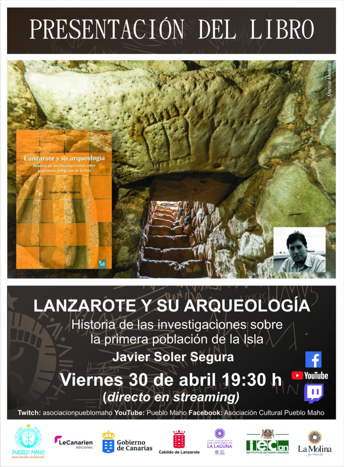 """Presentación del libro """"Lanzarote y su arqueología"""""""