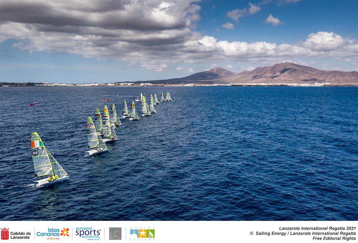 Turismo de Canarias logra un impacto publicitario de tres millones de euros con el clasificatorio olímpico de vela