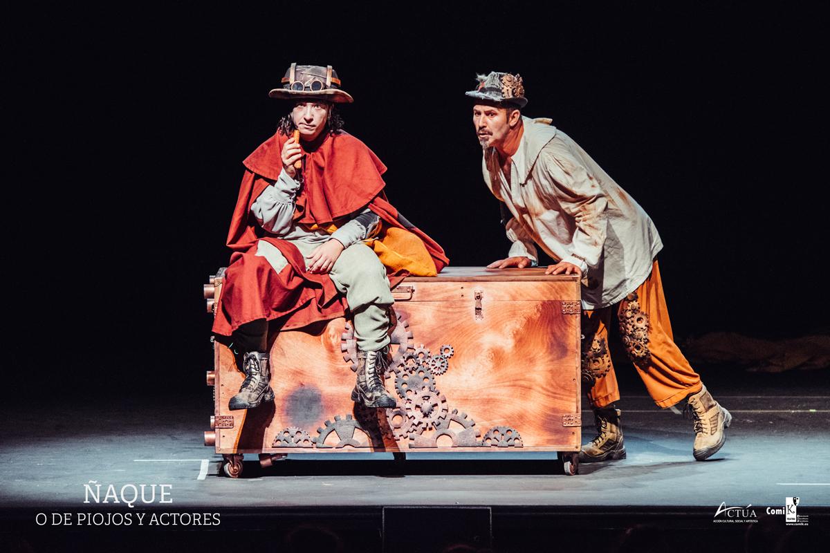 La divertida 'Ñaque o de piojos y actores' lleva la picaresca teatral del Siglo de Oro al Teatro Guiniguada