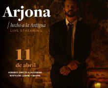 Todo listo para disfrutar de 'Hecho a la antigua', el exclusivo concierto que dará Ricardo Arjona desde Guatemala para el mundo