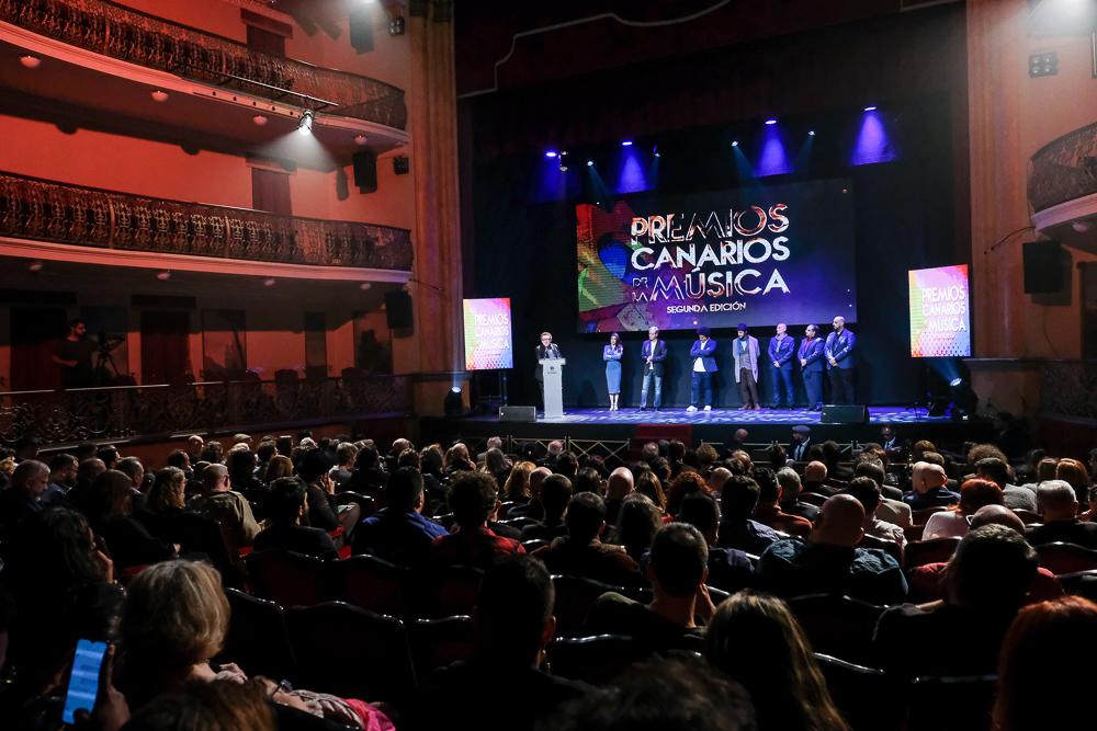 Abierta la inscripción para los Premios Canarios de la Música 2021