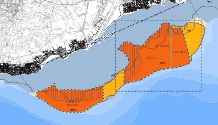 El Ayuntamiento pide al Gobierno que estudie alternativas a las zonas de Interés Acuícolas que afectan al litoral de Arrecife