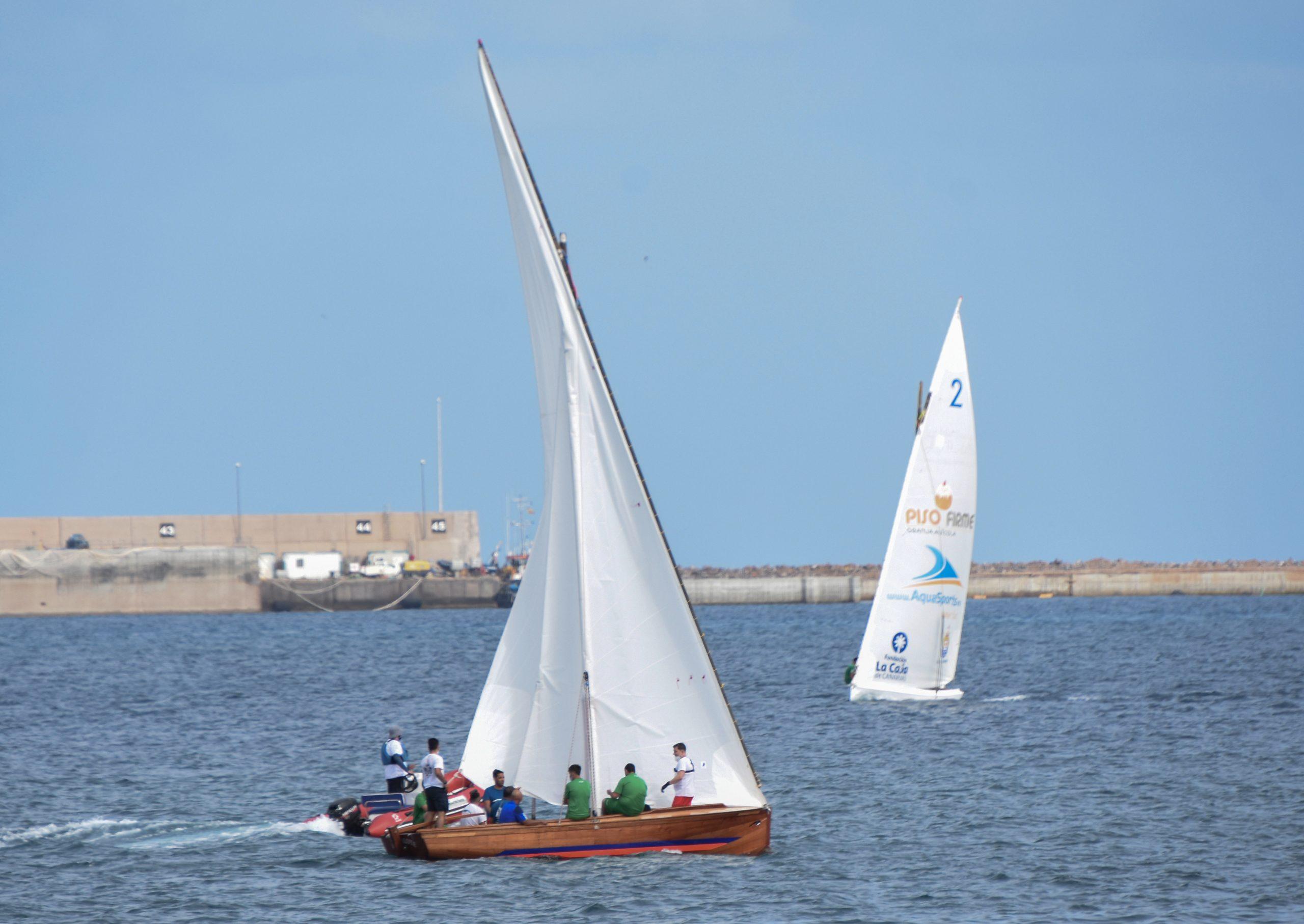 La Vela Latina Canaria sigue preparando el inicio de la competición cuando las autoridades lo permitan