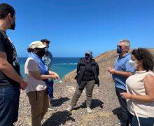 La investigación en el yacimiento de Rubicón amplía los trabajos de exploración en tierra y mar