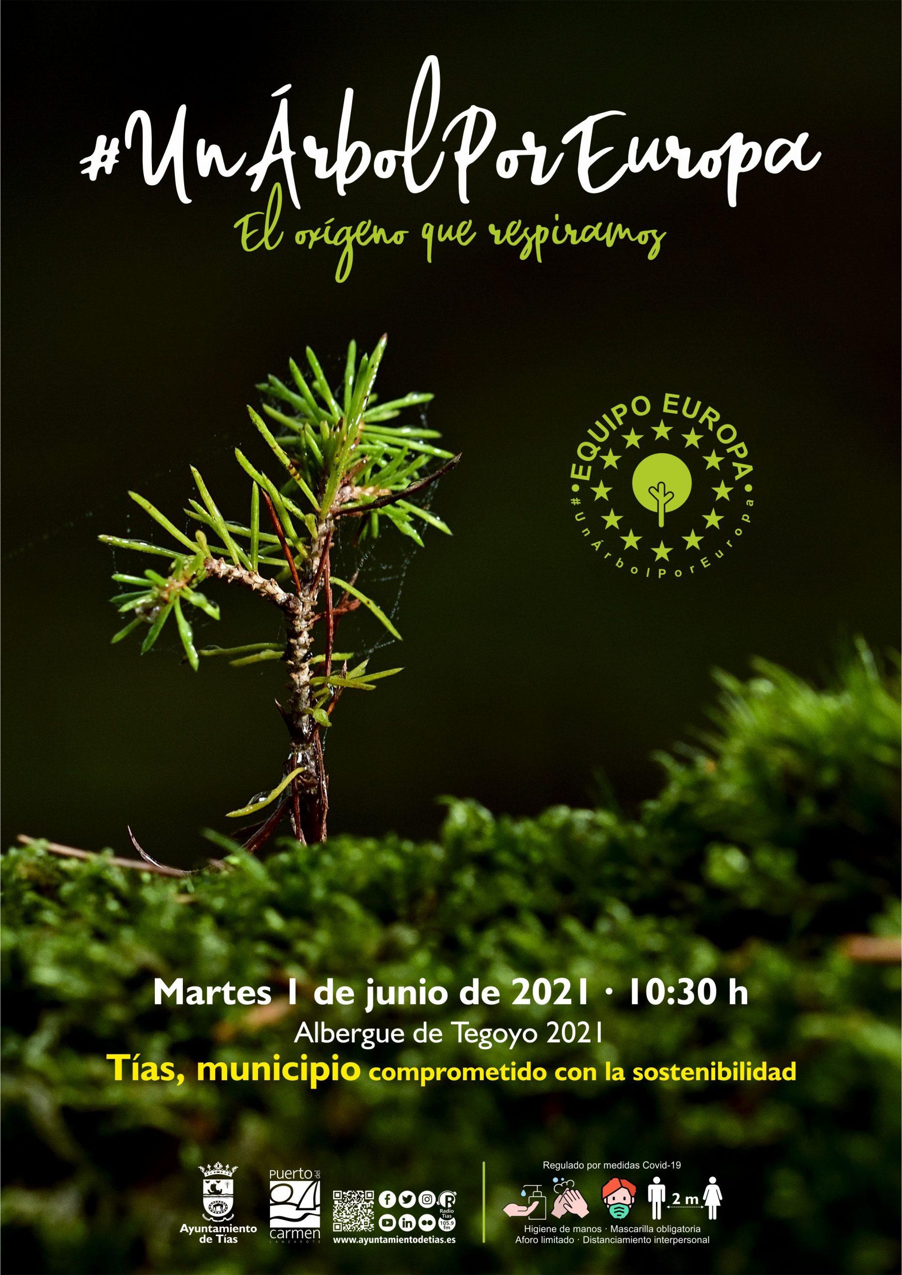 Semana del Medio Ambiente en Tías con plantación de árboles, charla, documental y taller