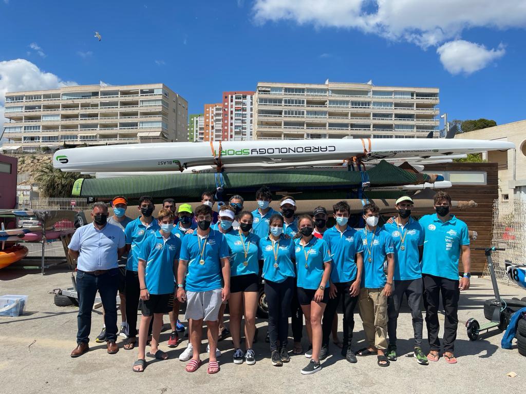 El Club de Piragüismo Marlines de Lanzarote regresa de la III Copa de España de Kayak de Mar con 10 medallas, 4 títulos y 8 plazas para el mundial