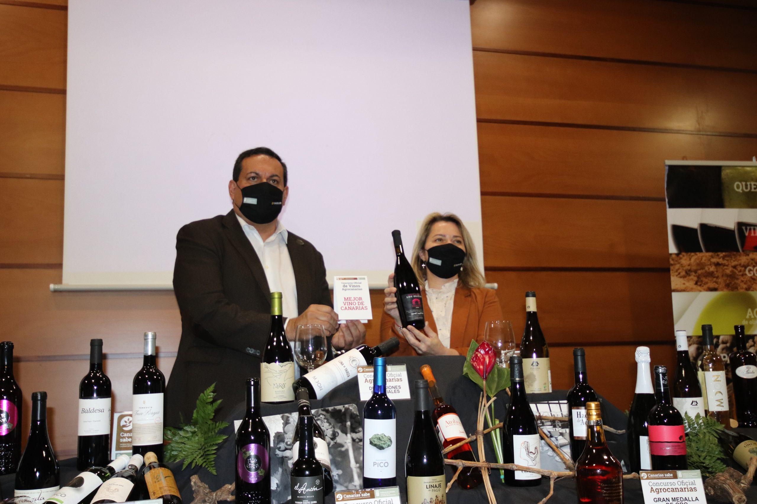 Canary Wine protagonistas del Concurso Oficial de Vinos Agrocanarias 2021