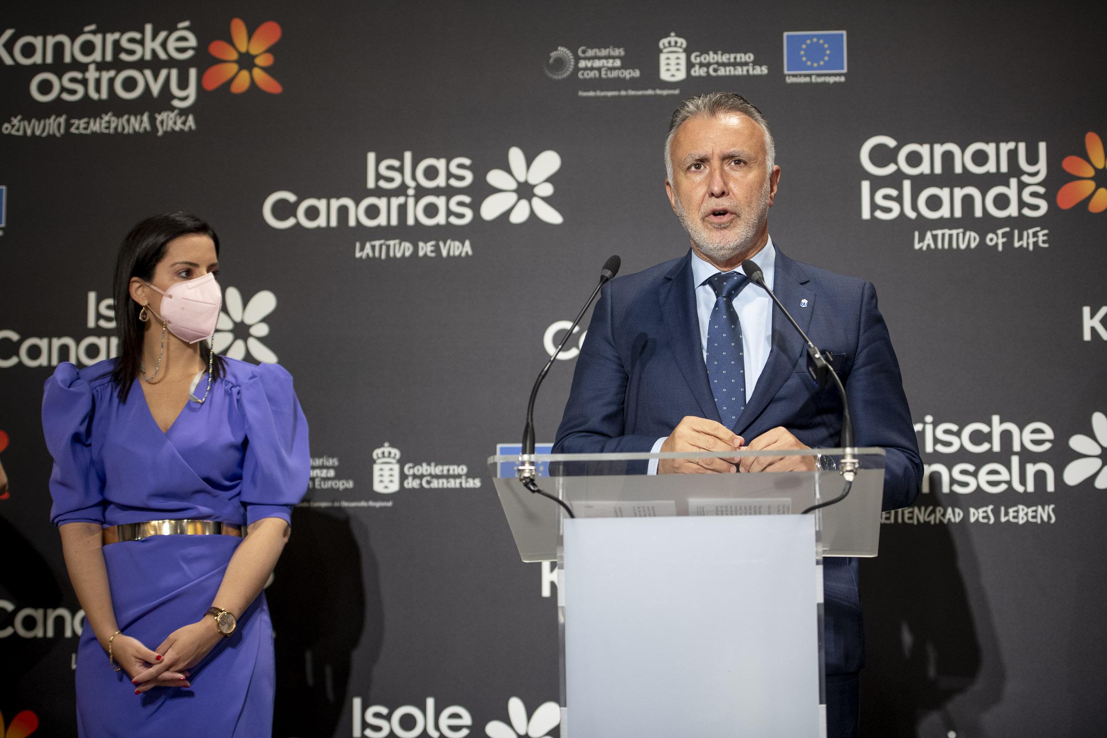 La apuesta canaria por el turismo nacional en verano se acompañará por la recuperación del 100% de la conectividad