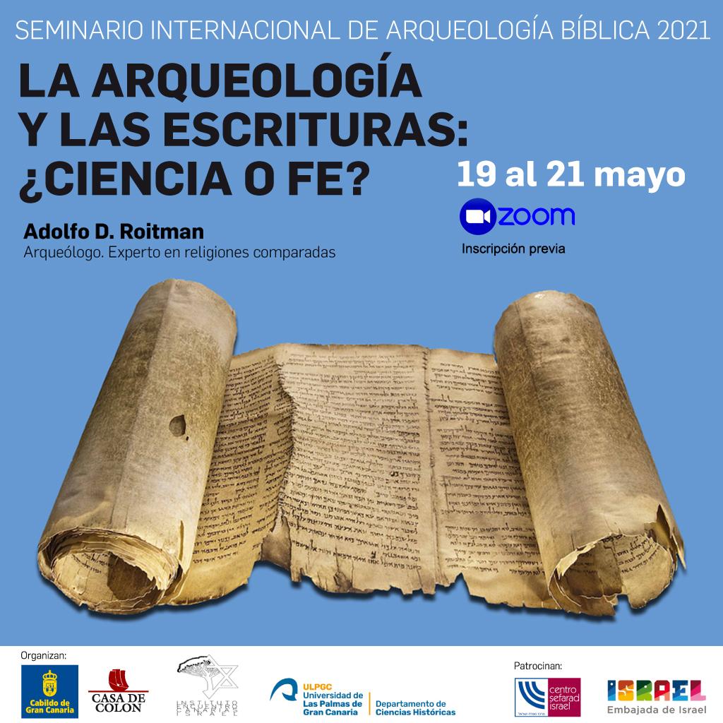 Seminario Internacional online de Arqueología Bíblica en la Casa Colón