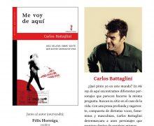 """Carlos Battaglini presentará su obra """"Me voy de aquí"""" en Arrecife"""