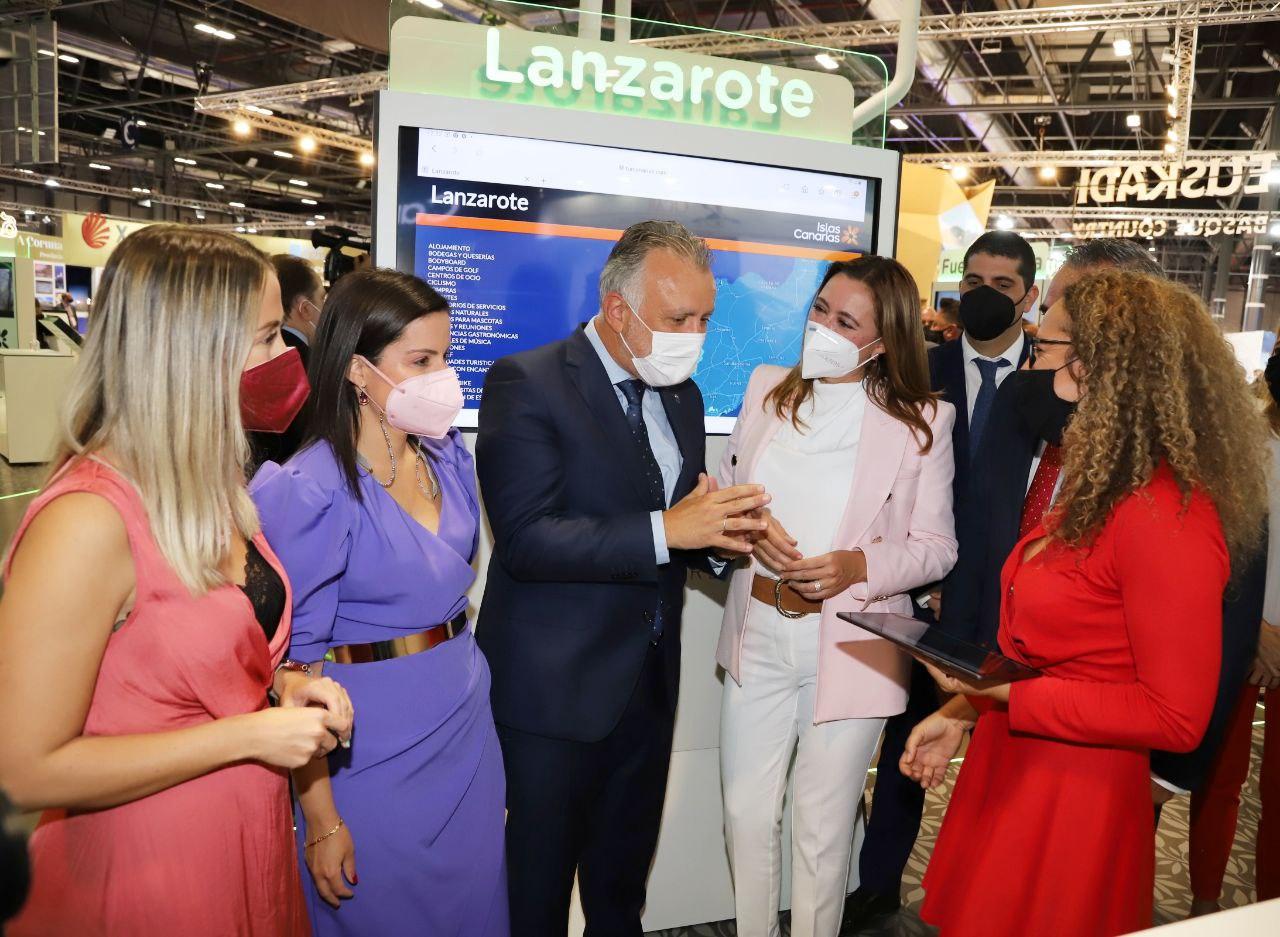 La delegación lanzaroteña constata una fuerte reactivación del turismo nacional