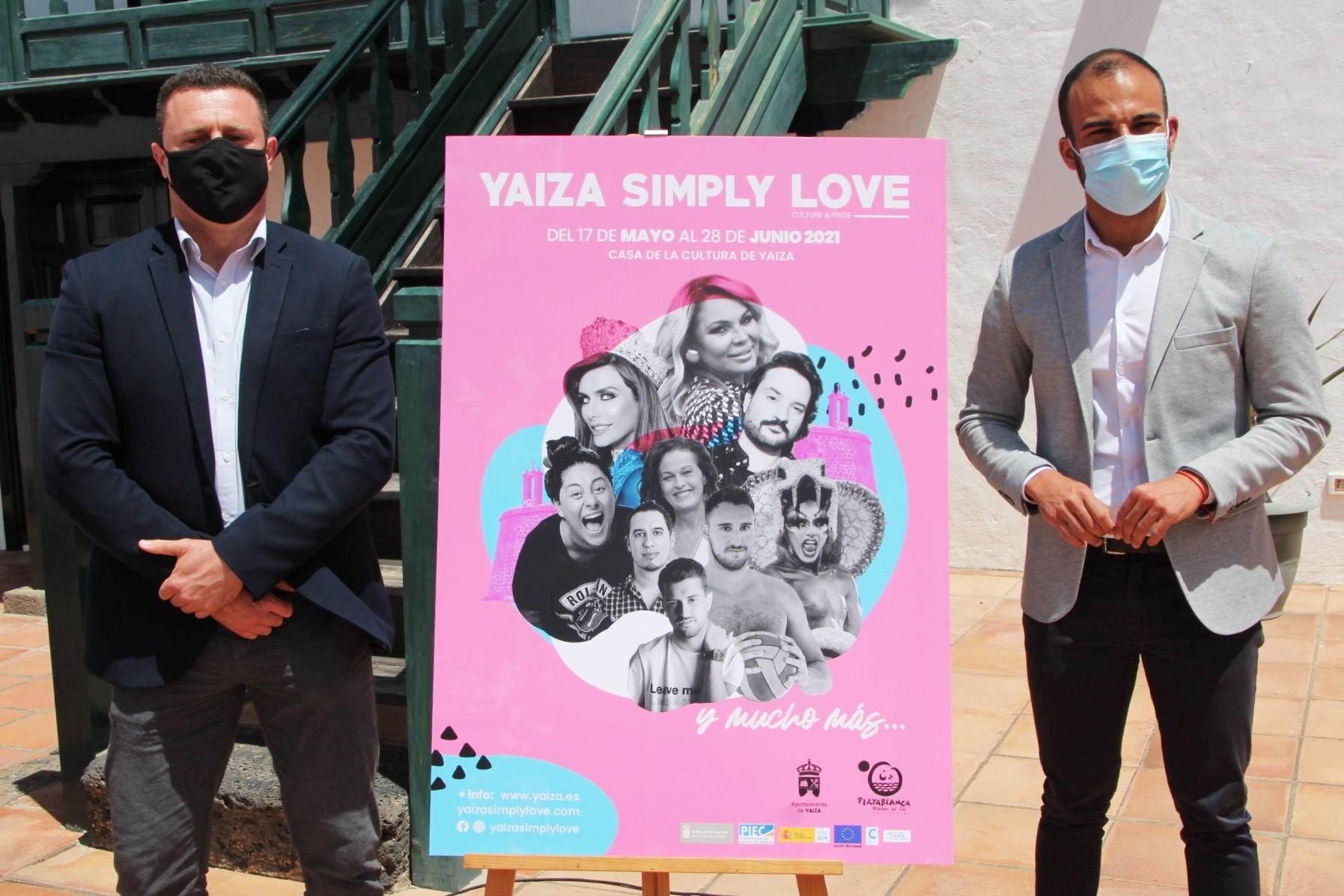 Yaiza celebra el festival Simply Love del 17 de mayo al 28 de junio