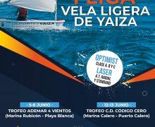 Yaiza aplaza la regata de vela ligera de este fin de semana por condiciones meteorológicas adversas