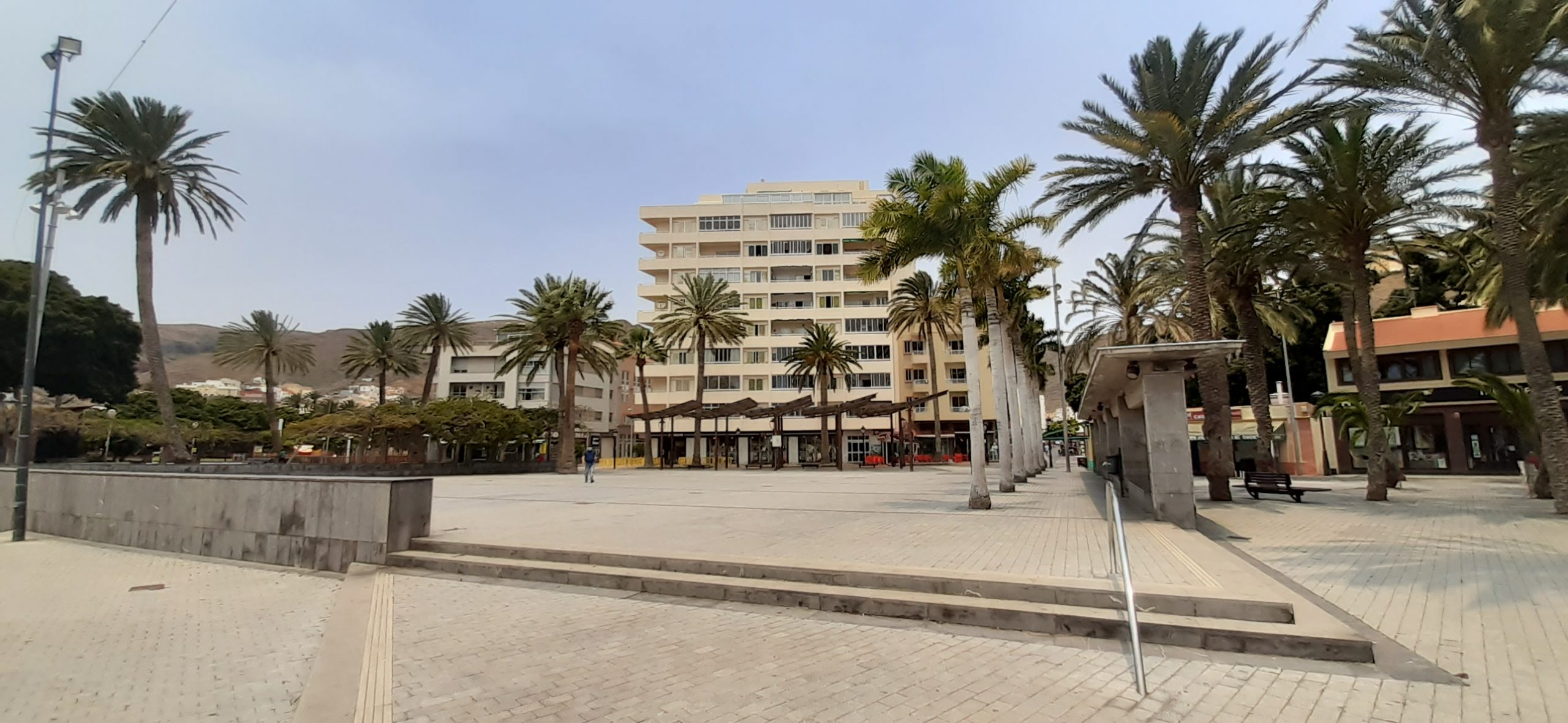 Turismo de Canarias destina 300.000 euros a la renovación de la Plaza de Las Américas de San Sebastián de La Gomera