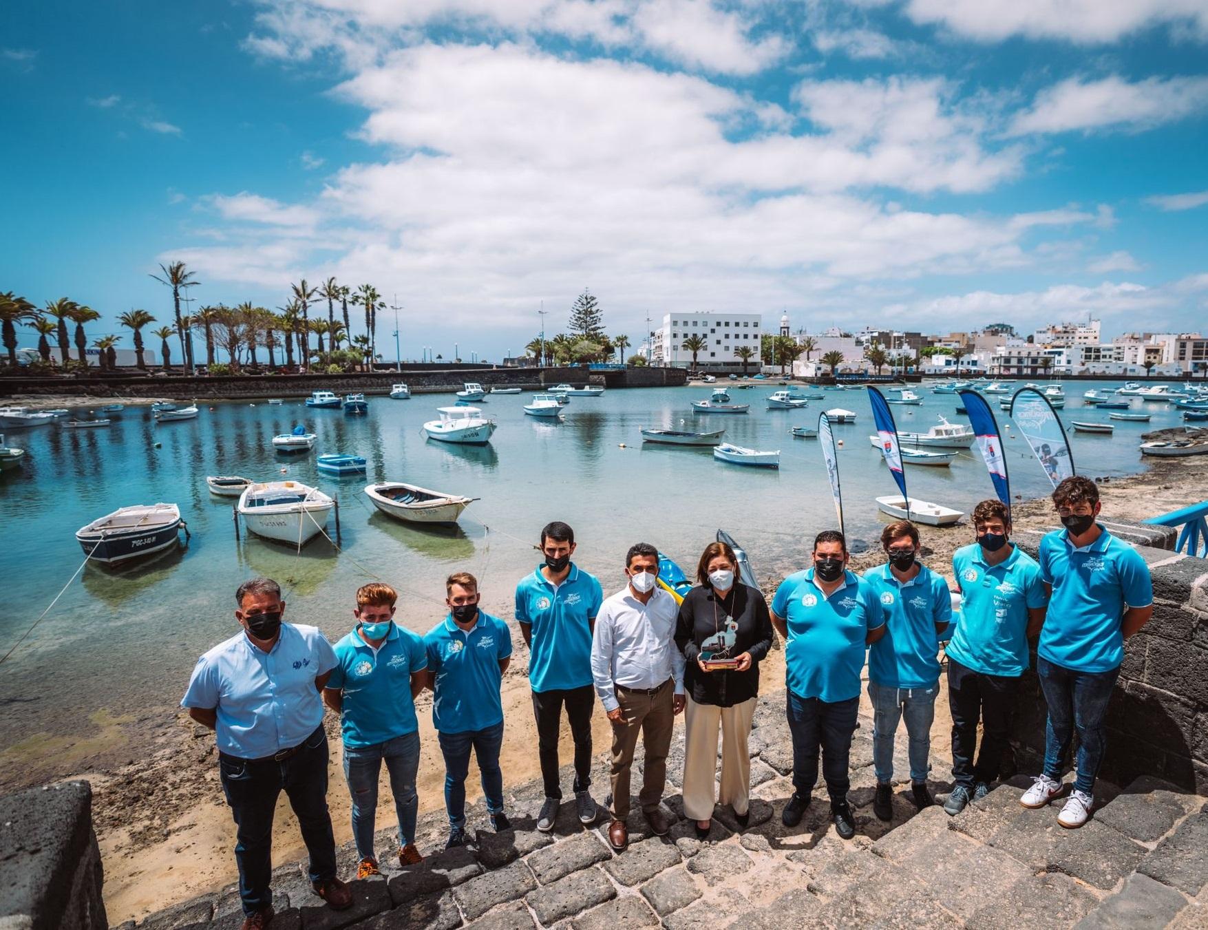 El litoral de Arrecife acogerá en julio el Mundial de Kayak de Mar