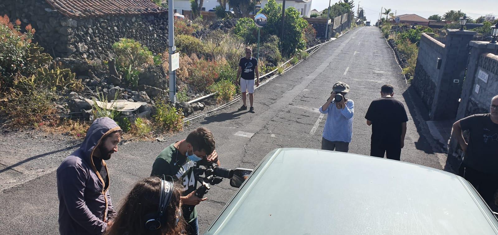 El Festivalito La Palma proyecta esta noche su Maratón de Cortos admitidos en esta edición de La Palma Rueda