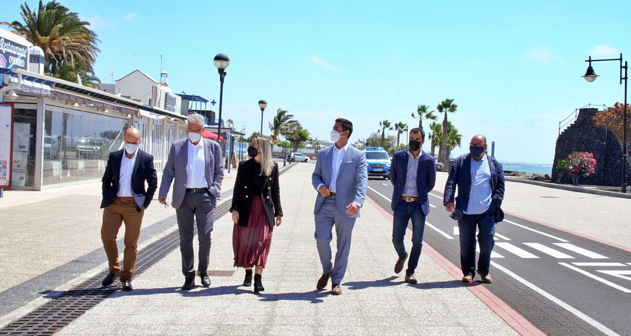 Turismo de Canarias invierte 3.266.893 de euros en renovar y complementar la oferta turística de Tías