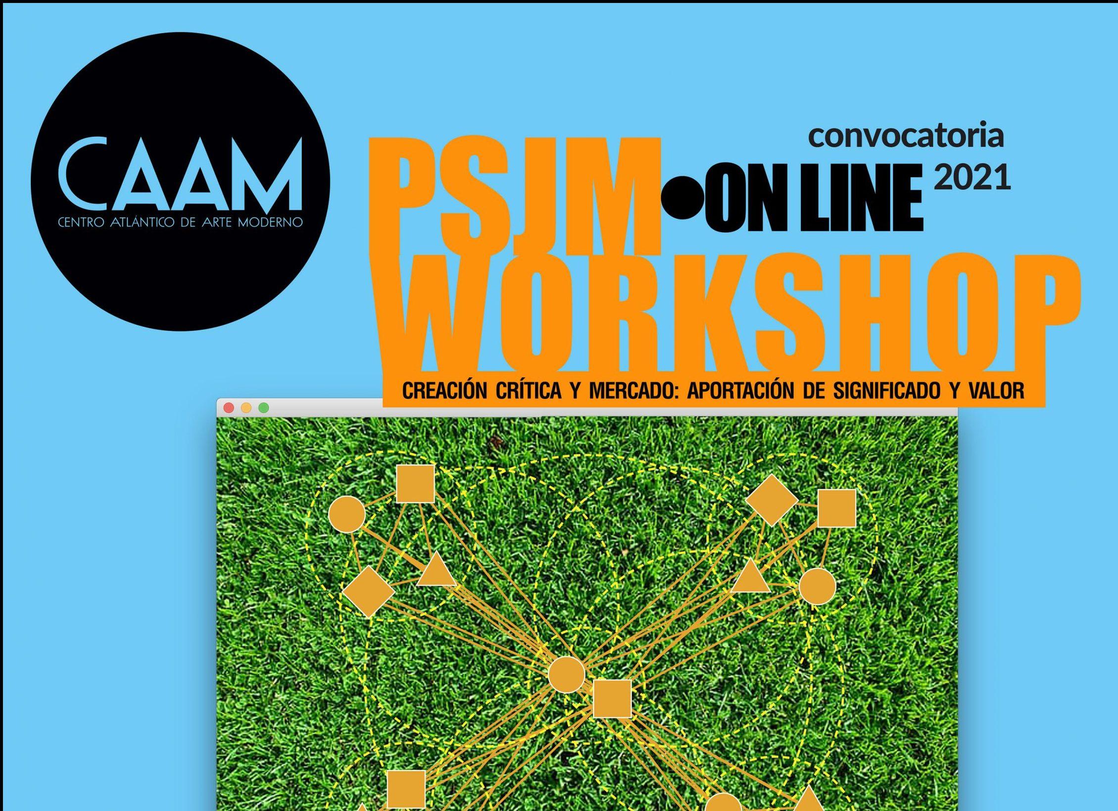 El CAAM convoca 16 becas para el taller virtual sobre creación contemporánea que impartirá en junio el equipo artístico PSJM