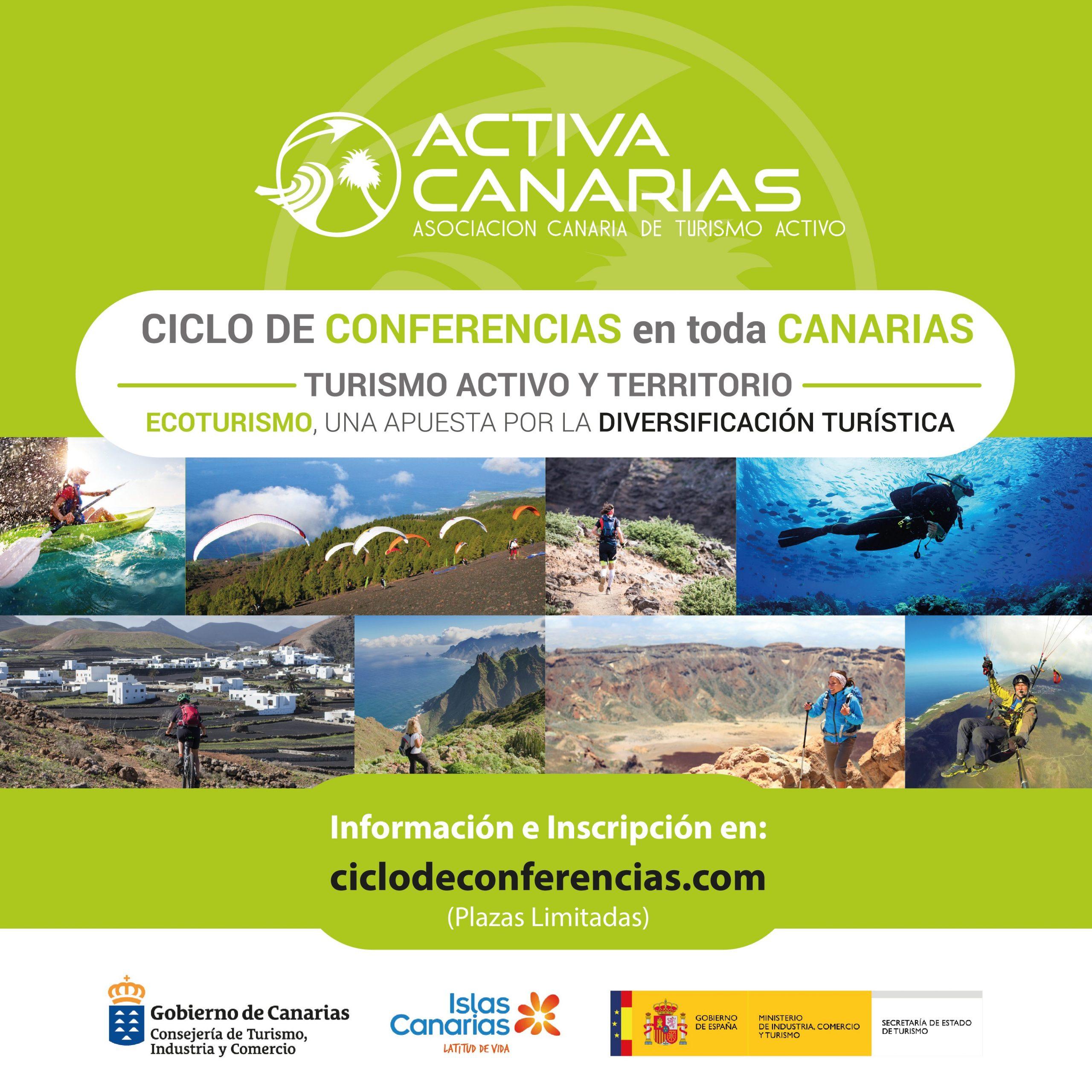 Lanzarote, primera parada del Ciclo de Conferencias de Activa Canarias