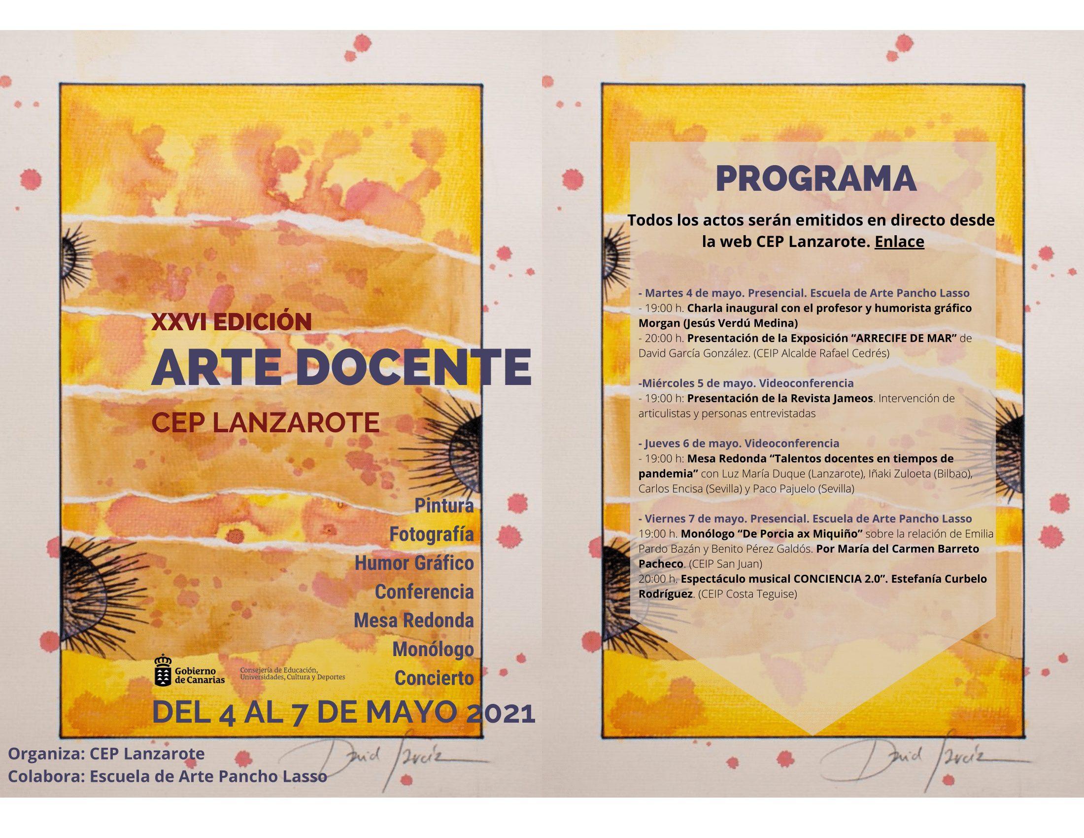 El CEP de Lanzarote recupera Arte docente