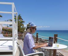 Turismo de Canarias consigue incrementar en un 10% mensual la llegada de teletrabajadores a las Islas