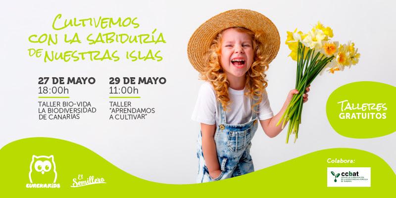 """Eurekakids Canarias celebra el """"mes del Medioambiente"""" promoviendo entre los más pequeños el cultivo de semillas"""