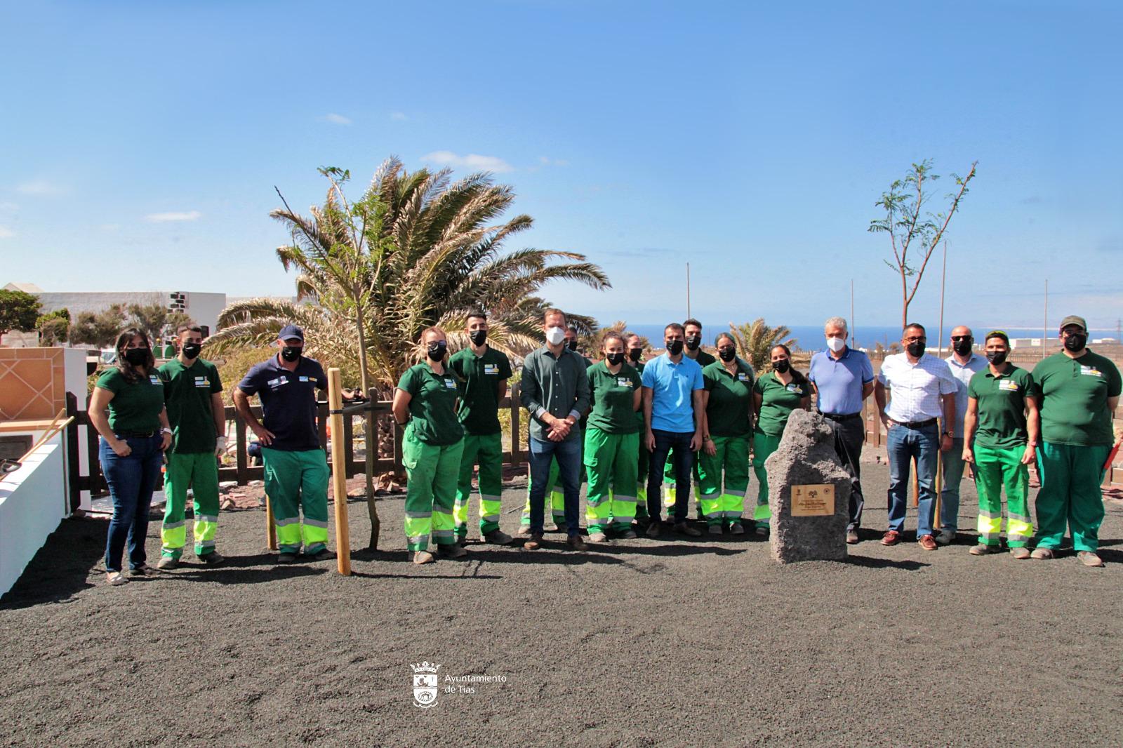 Flamboyanos, callistemons y jacaranda en Tegoyo para la campaña Un árbol por Europa
