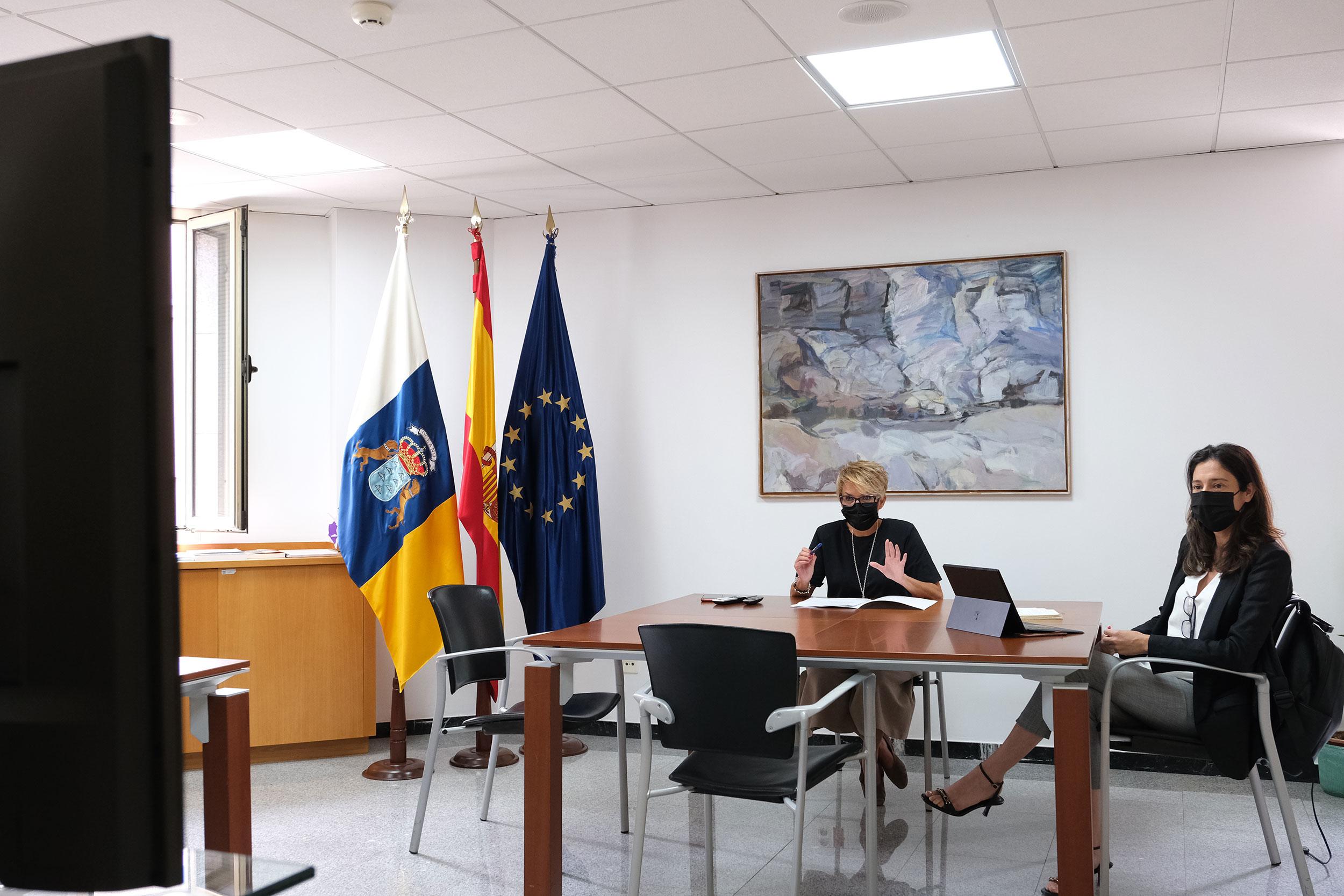 Canarias coordina con la Embajada en Londres el impulso a las relaciones económicas con el Reino Unido
