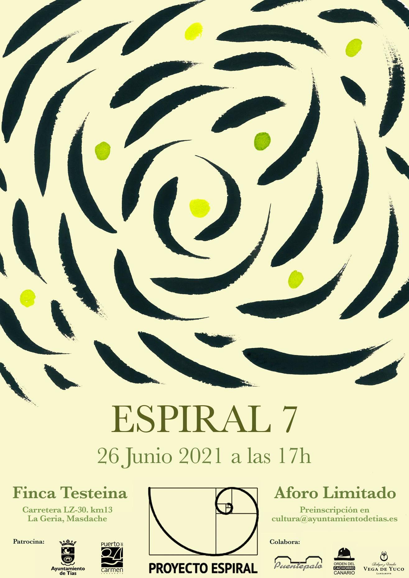 Encuentro poético 'Espiral 7' en Finca Teisteina, Tías