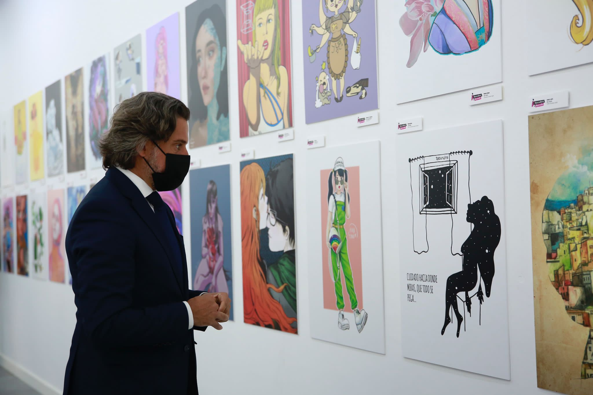 Exposición Ilustradoras & Ilustradas en Gran Canaria