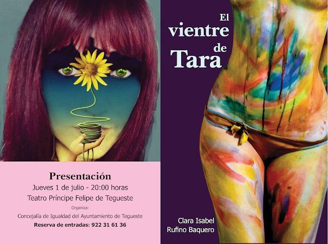 """Presentación de """"El vientre de Tara"""", de Clara Isabel Rufino Baquero – Semana del Orgullo LGTBI+"""