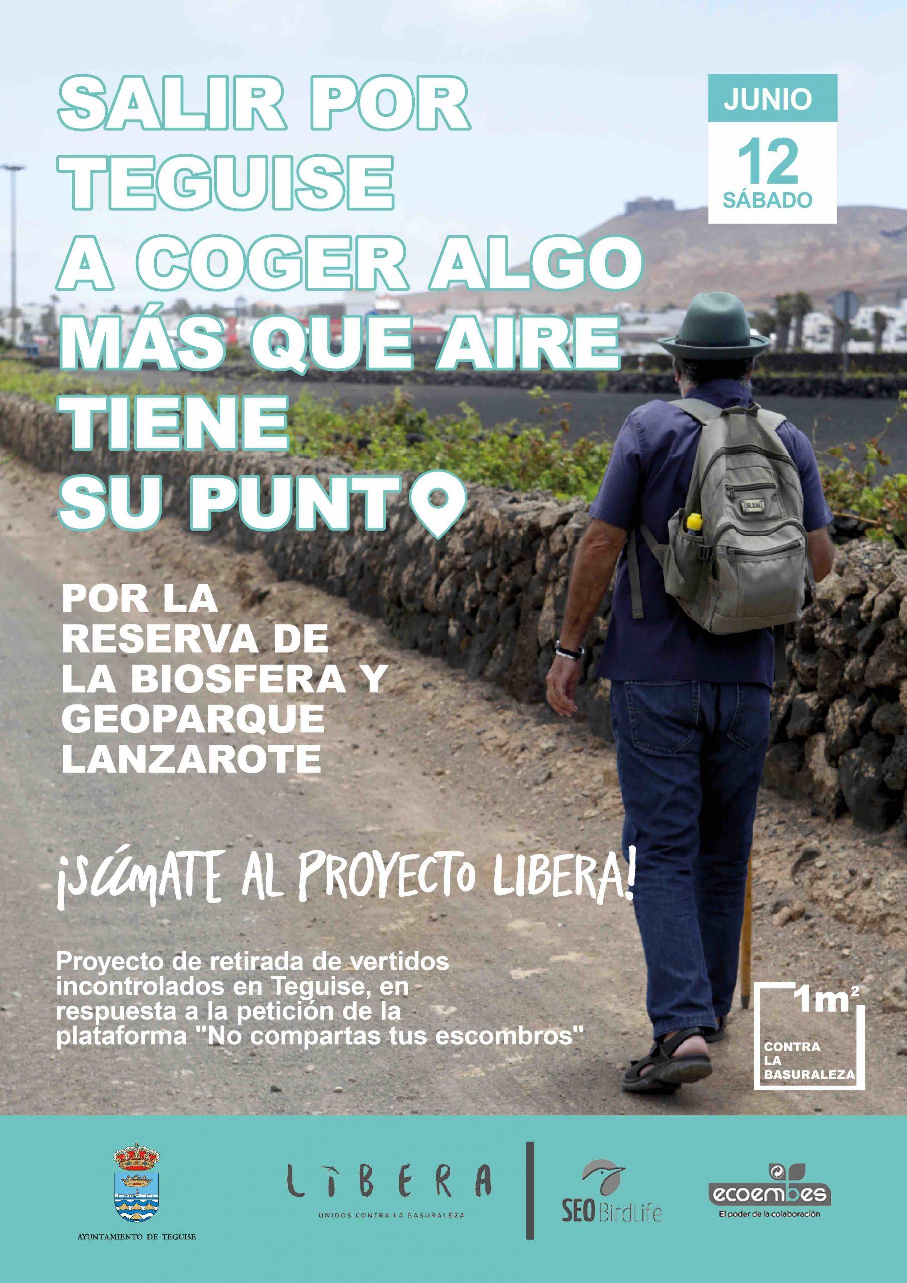 Teguise inicia una campaña de retirada de vertidos incontrolados en connivencia con las asociaciones medioambientales de Lanzarote