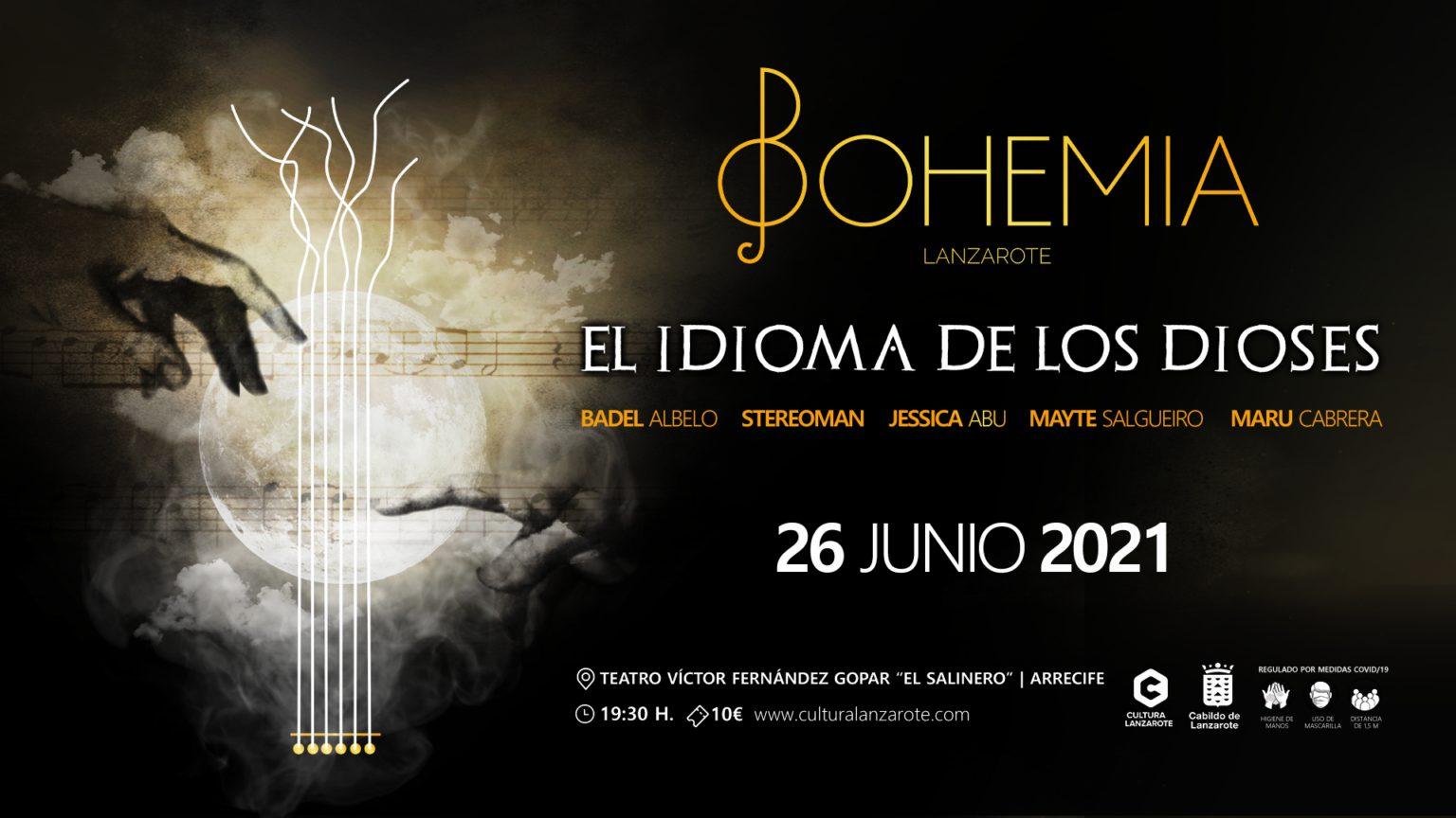 'El idioma de los dioses', de Bohemia Lanzarote en el Teatro El Salinero