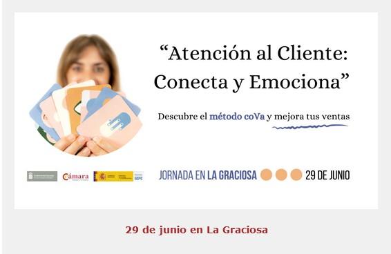 Jornada en La Graciosa: «Atención al Cliente: Conecta y Emociona»