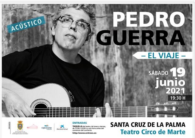 Concierto de Pedro Guerra
