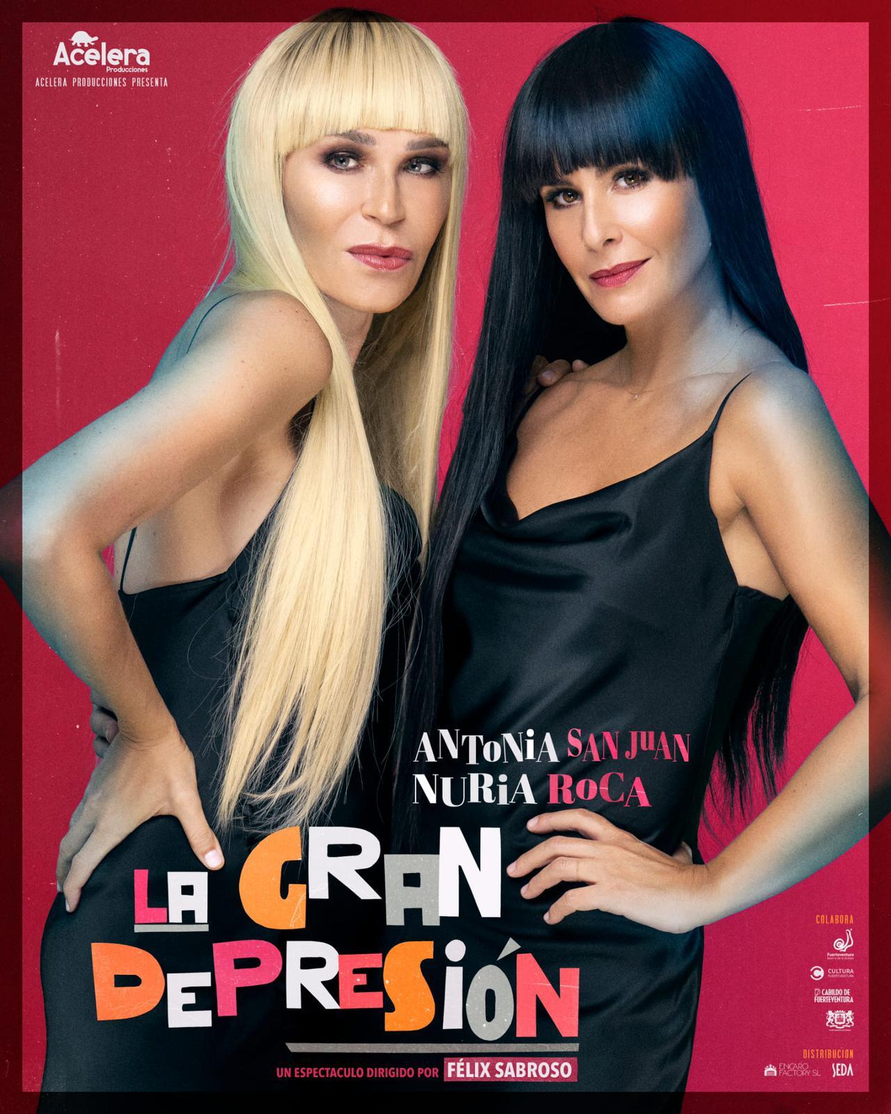 Pospuestas las funciones de 'La gran depresión' en La Palma y Tenerife de este fin de semana por indisposición de una de las actrices