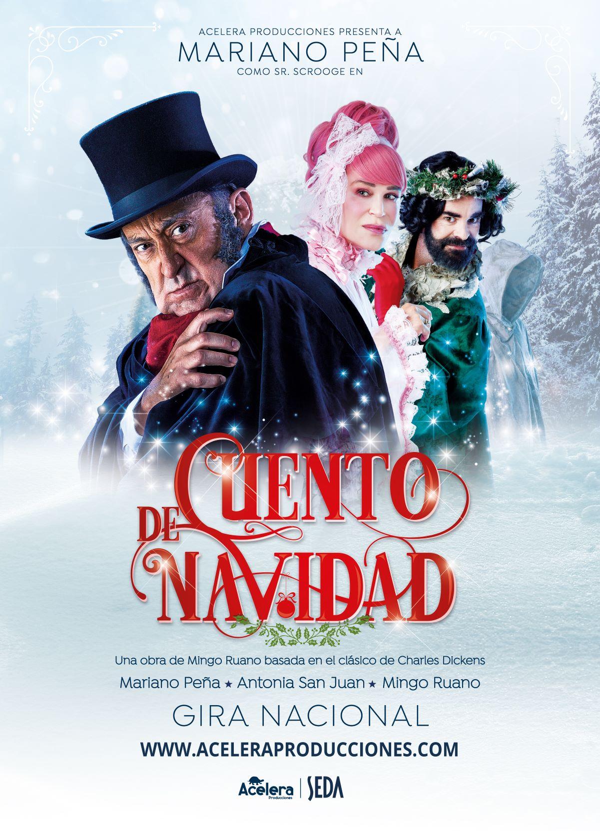 La productora canaria Acelera, al asalto de la cartelera nacional con el montaje de teatro musical 'Cuento de Navidad'