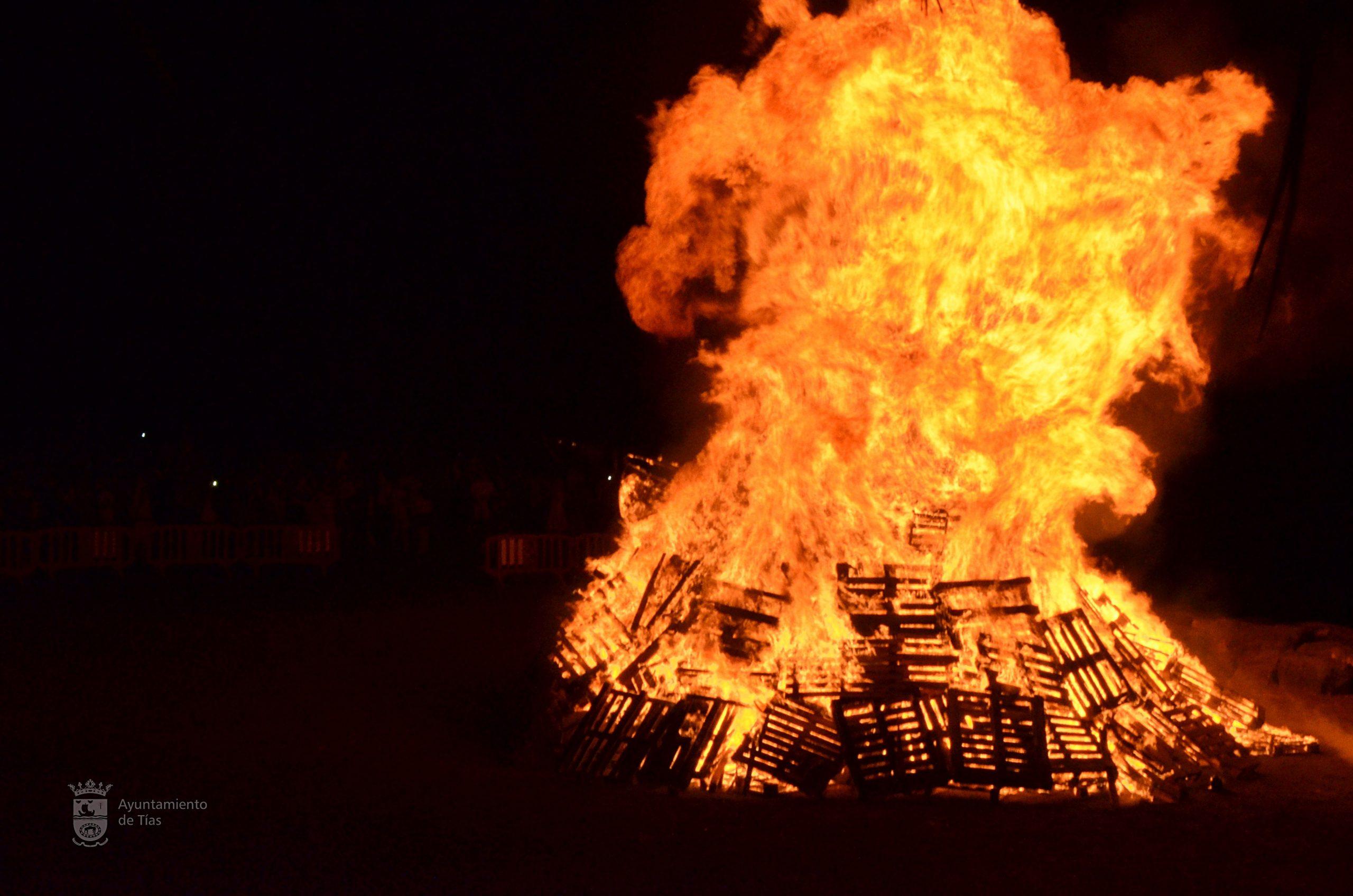 Las hogueras de San Juan y San Pedro en el municipio de Tías tendrán medidas especiales de seguridad