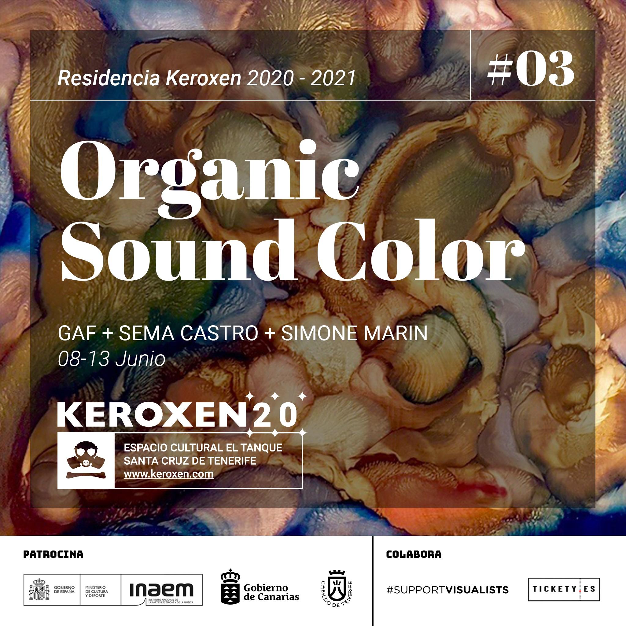 Keroxen organiza dos residencias artísticas en el Espacio Cultural El Tanque