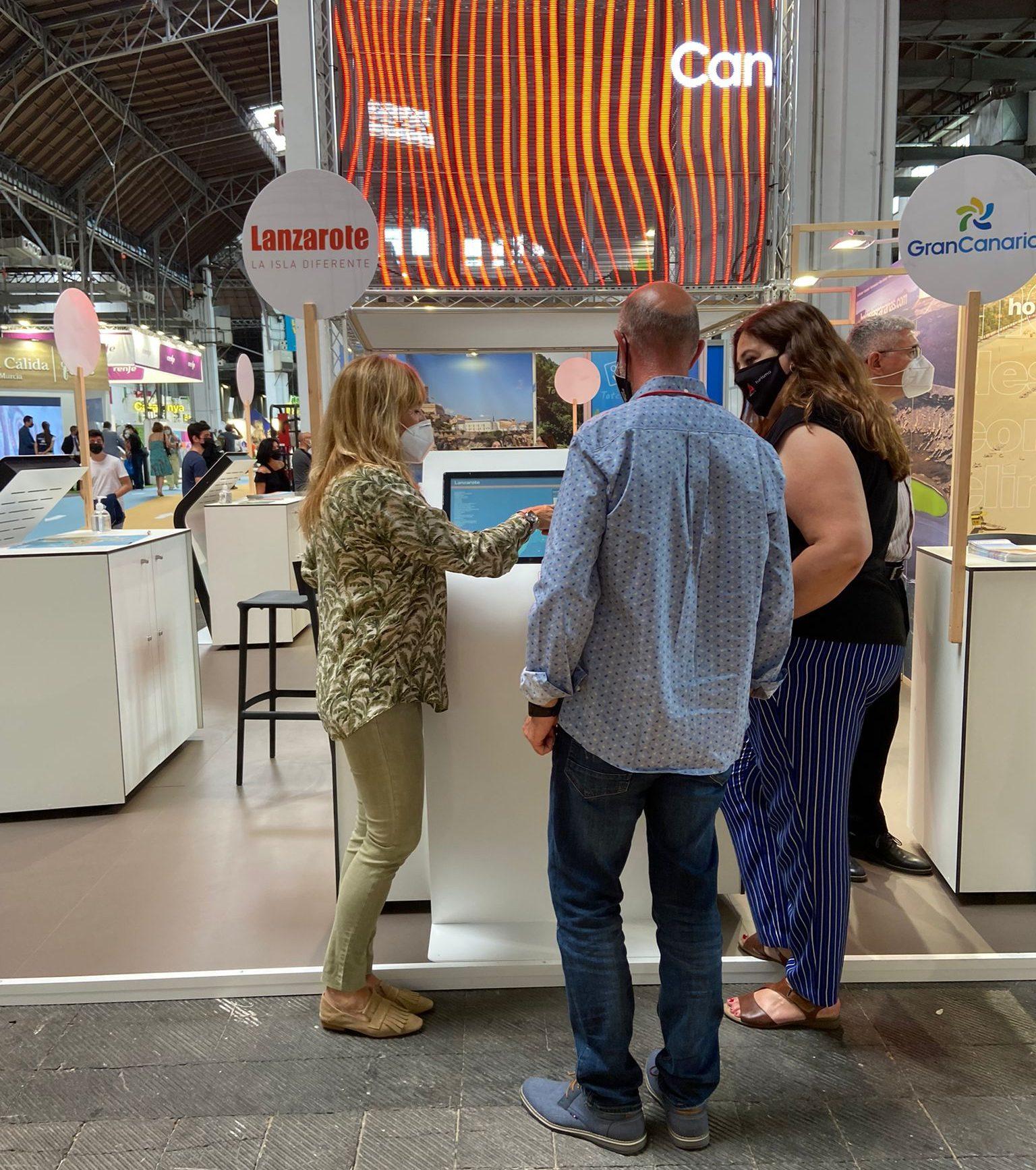 Turismo Lanzarote promociona la isla en B-Travel, la prestigiosa feria de experiencias viajeras de Barcelona