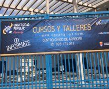Abierta la inscripción en los cursos de verano de la Universidad Popular de Arrecife