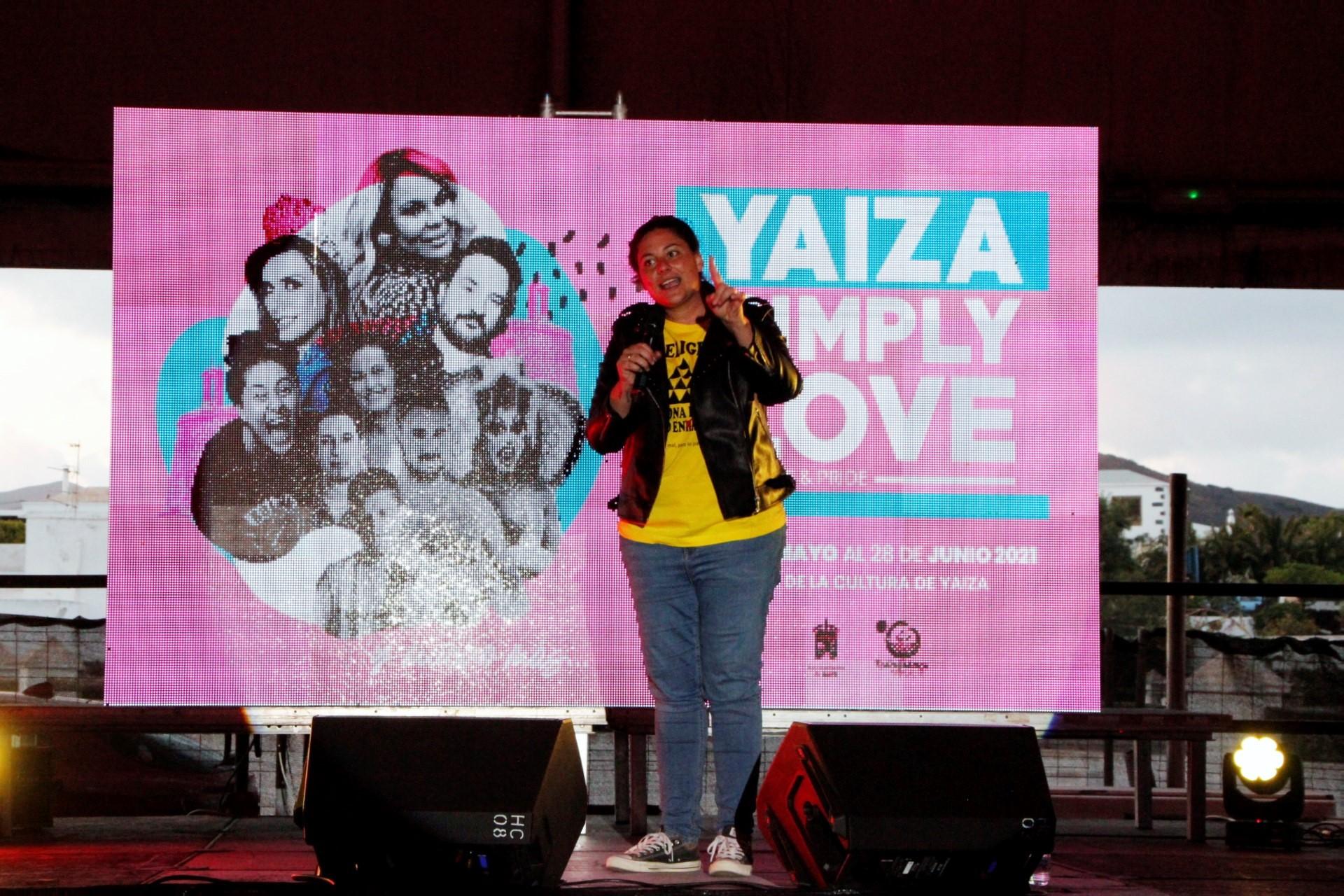 Omayra Cazorla también deja su mensaje inclusivo en el Yaiza Simply Love