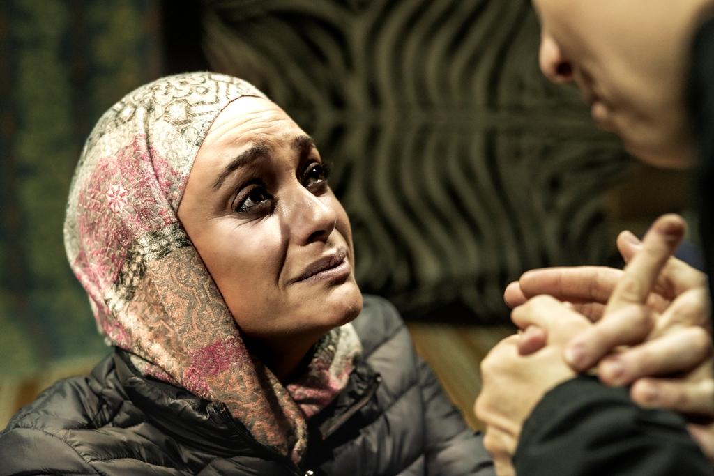 El Espacio La Granja acoge 'Moria', una obra de teatro inmersivo sobre personas refugiadas