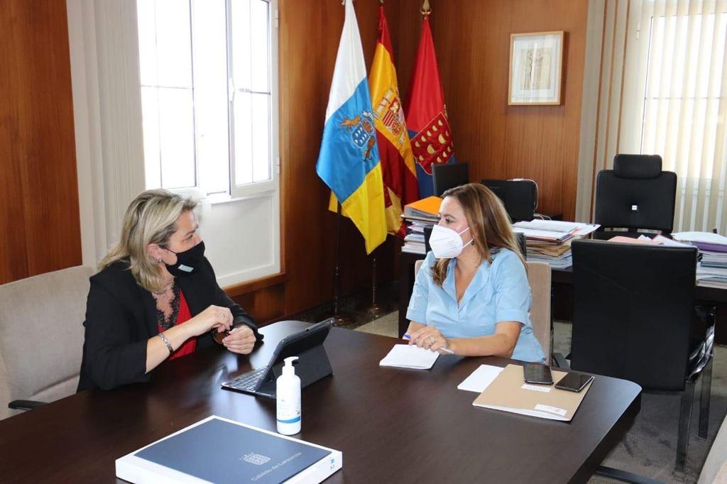 Lanzarote expone su industria quesera en la fase previa del Concurso de Quesos Agrocanarias 2021