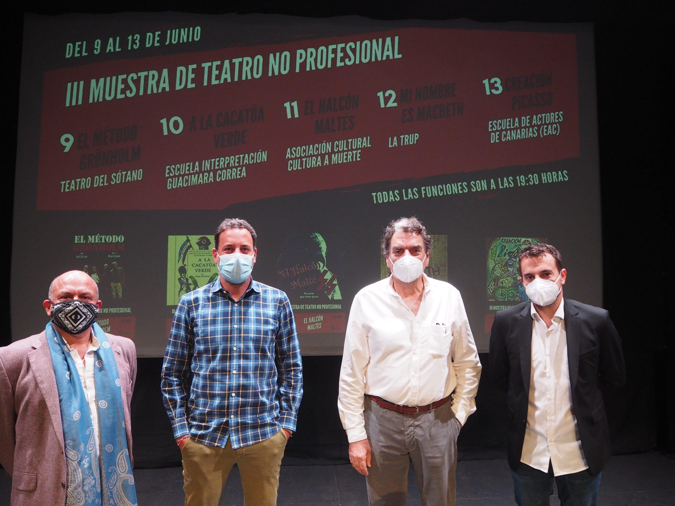 El Teatro Guiniguada presenta la III Muestra de Teatro No Profesional de Canarias