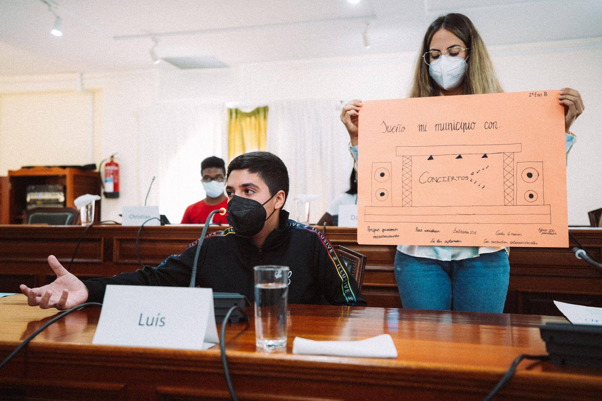 Arrecife clausura los talleres de participación con estudiantes de los institutos Blas Cabrera y Agustín Espinosa