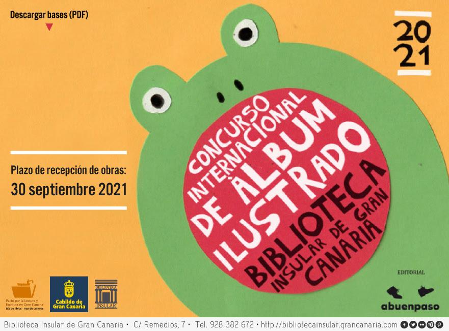 "Concurso Internacional de ""Álbum Ilustrado Biblioteca Insular de Gran Canaria"" dotado con un único premio de 11.000 Euros"