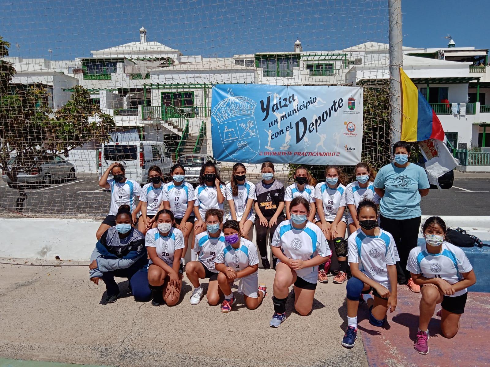 La Copa de Verano de Balonmano integra a 300 deportistas en Playa Blanca