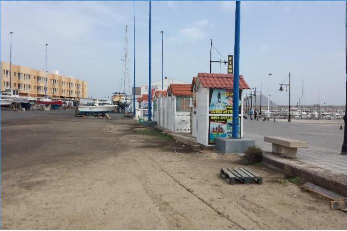 Obras Públicas destina cerca de 500.000 euros para mejorar el Puerto de Corralejo, en Fuerteventura
